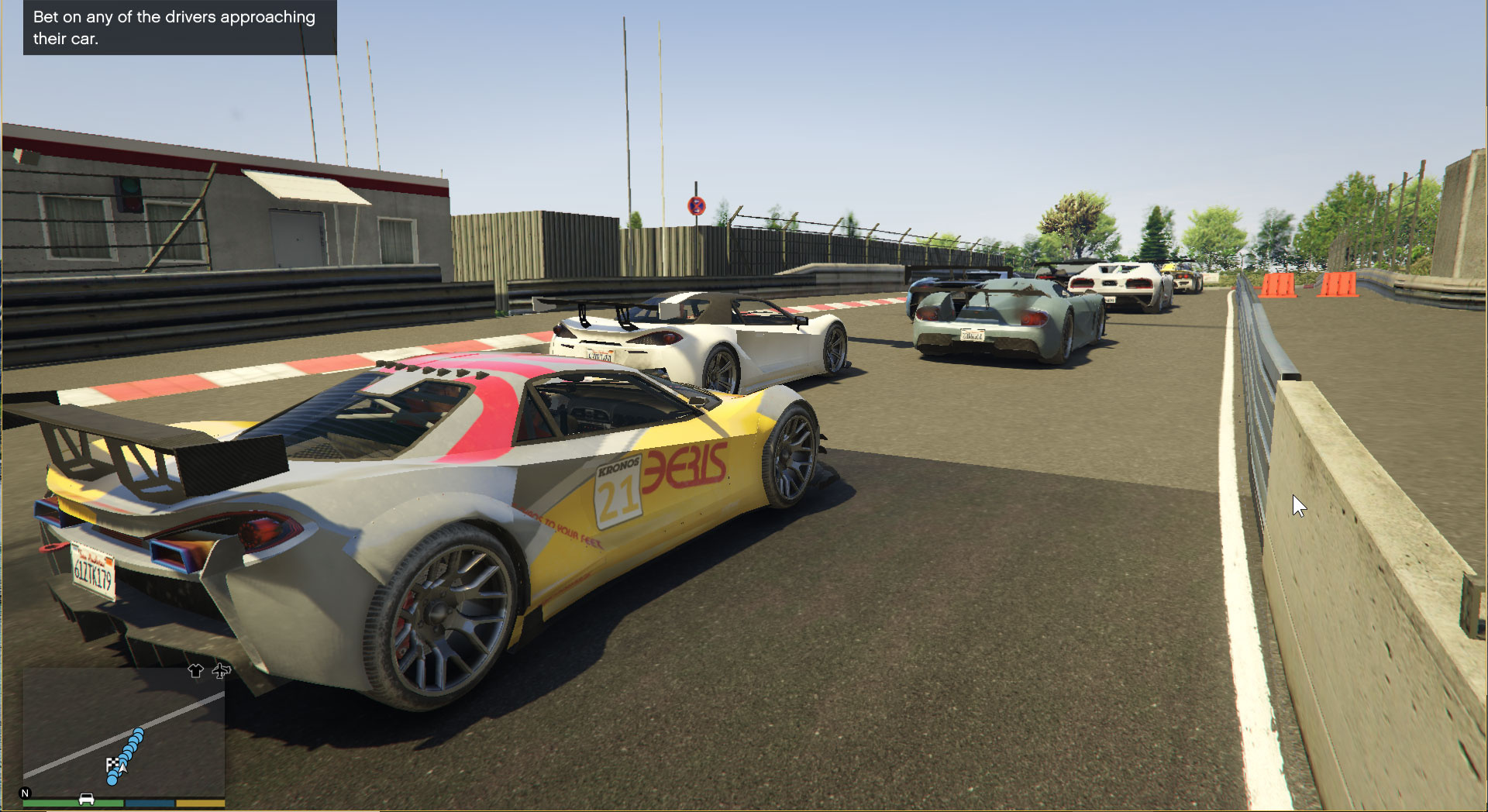 Nordschleife V Races and Traffic Paths [community races | street