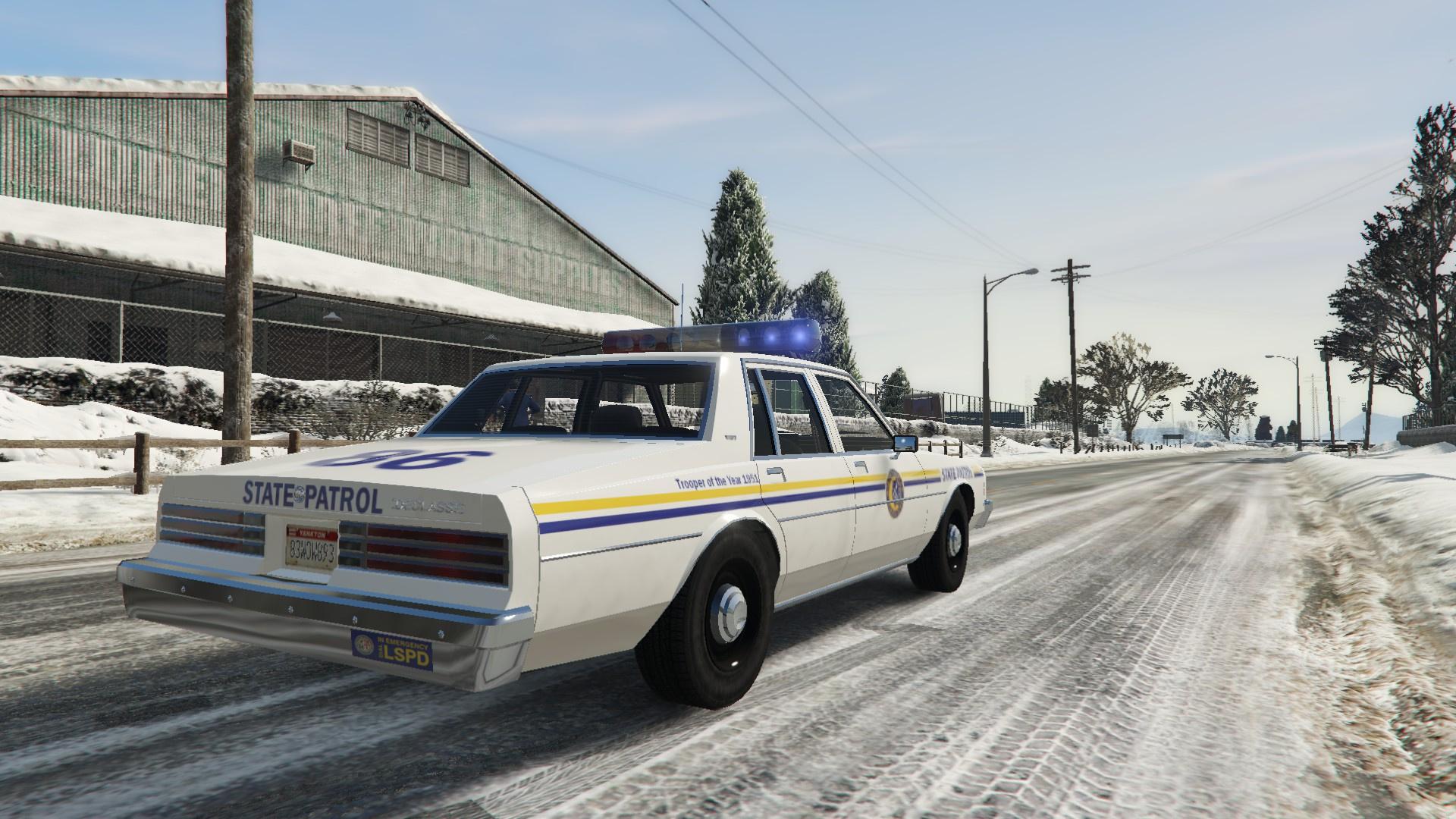 Mb Sprinter 2018 >> North Yankton State Patrol Retro Livery Pack - GTA5-Mods.com