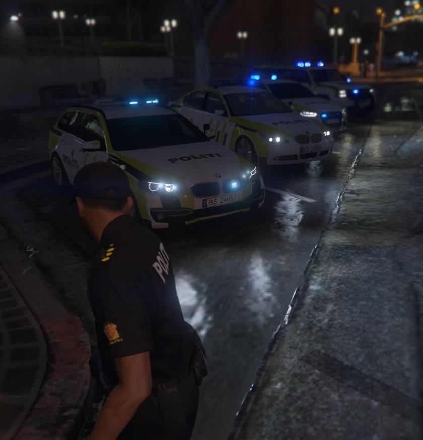 Norwegian Police Vehicle Pack