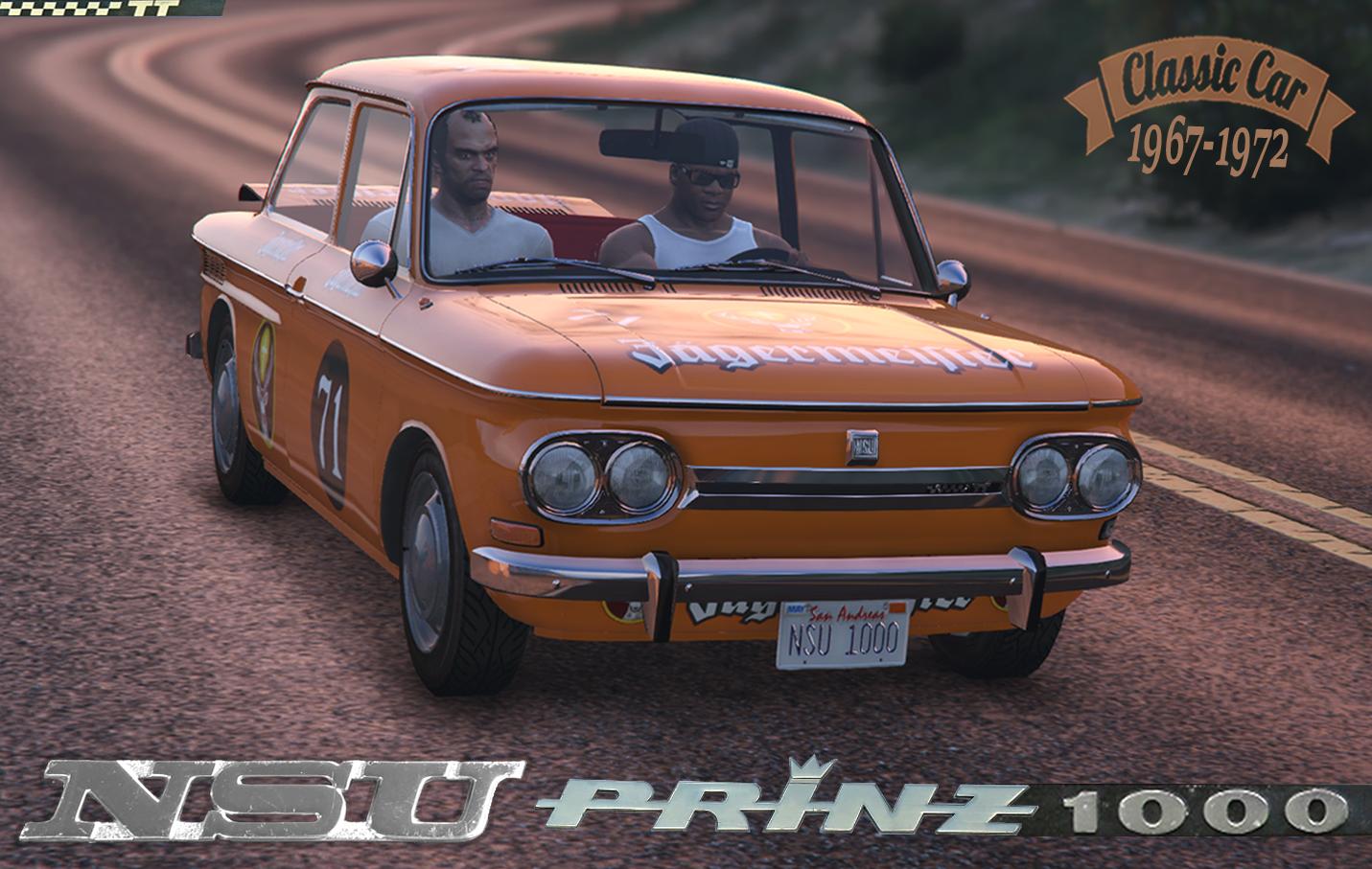 NSU Prinz 1000 TT [Add-On