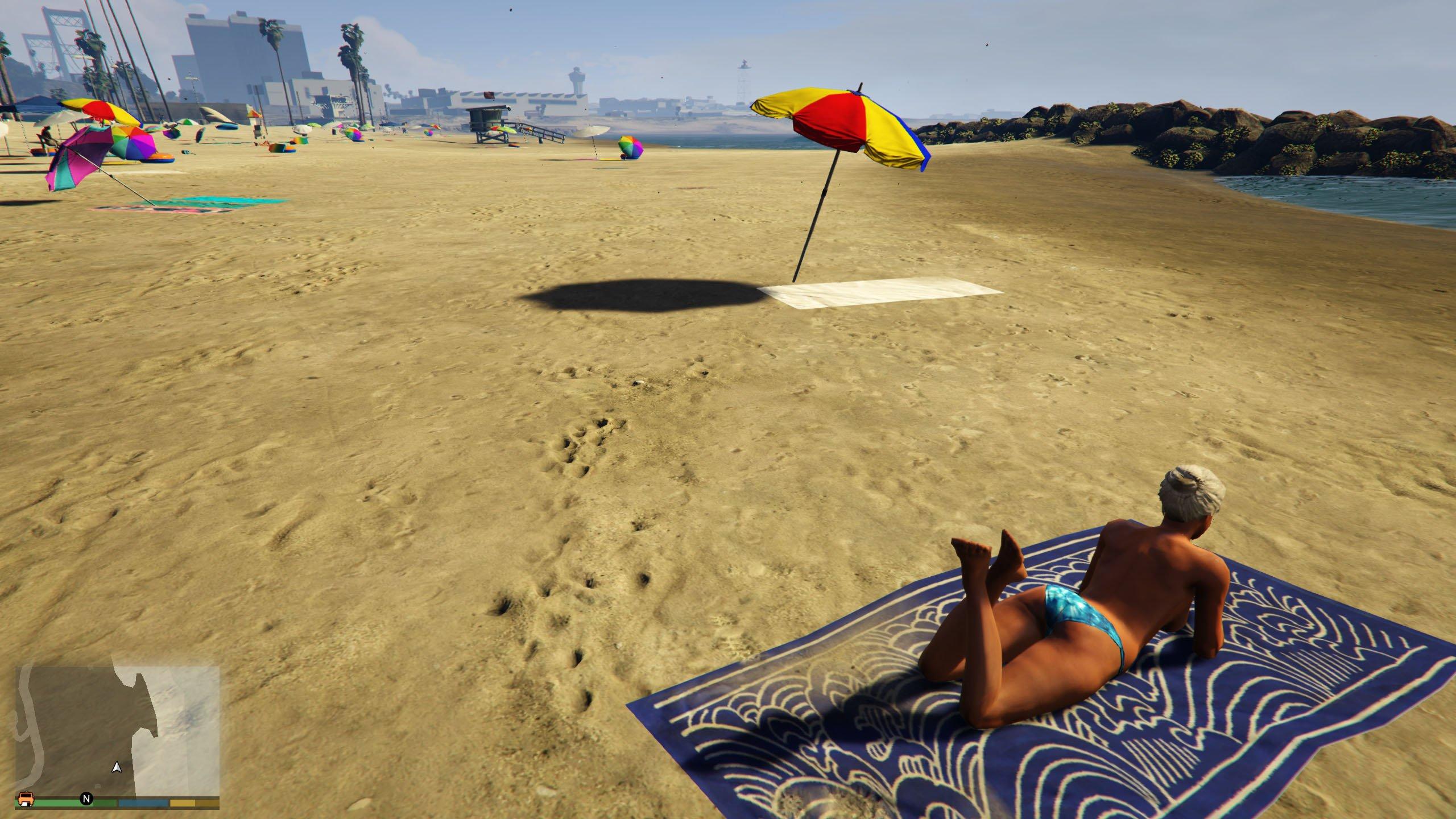 Nude Beach Girls 18 - Gta5-Modscom-8735