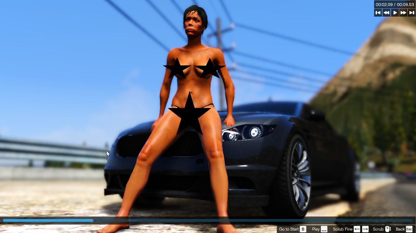 Gta 5 naked girl mod softcore woman