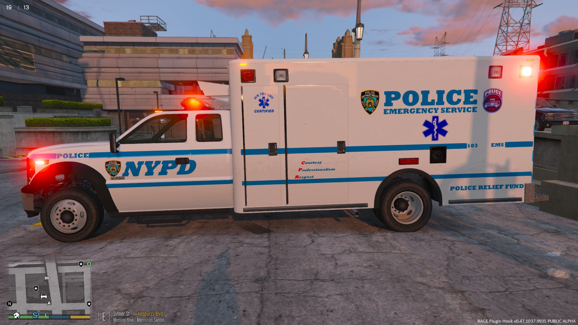 NYPD ESU EMS V450 Ambulance  GTA5Modscom