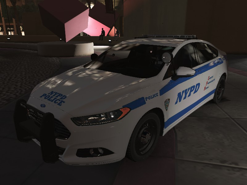 nypd ford fusion hybrid texture gta5. Black Bedroom Furniture Sets. Home Design Ideas
