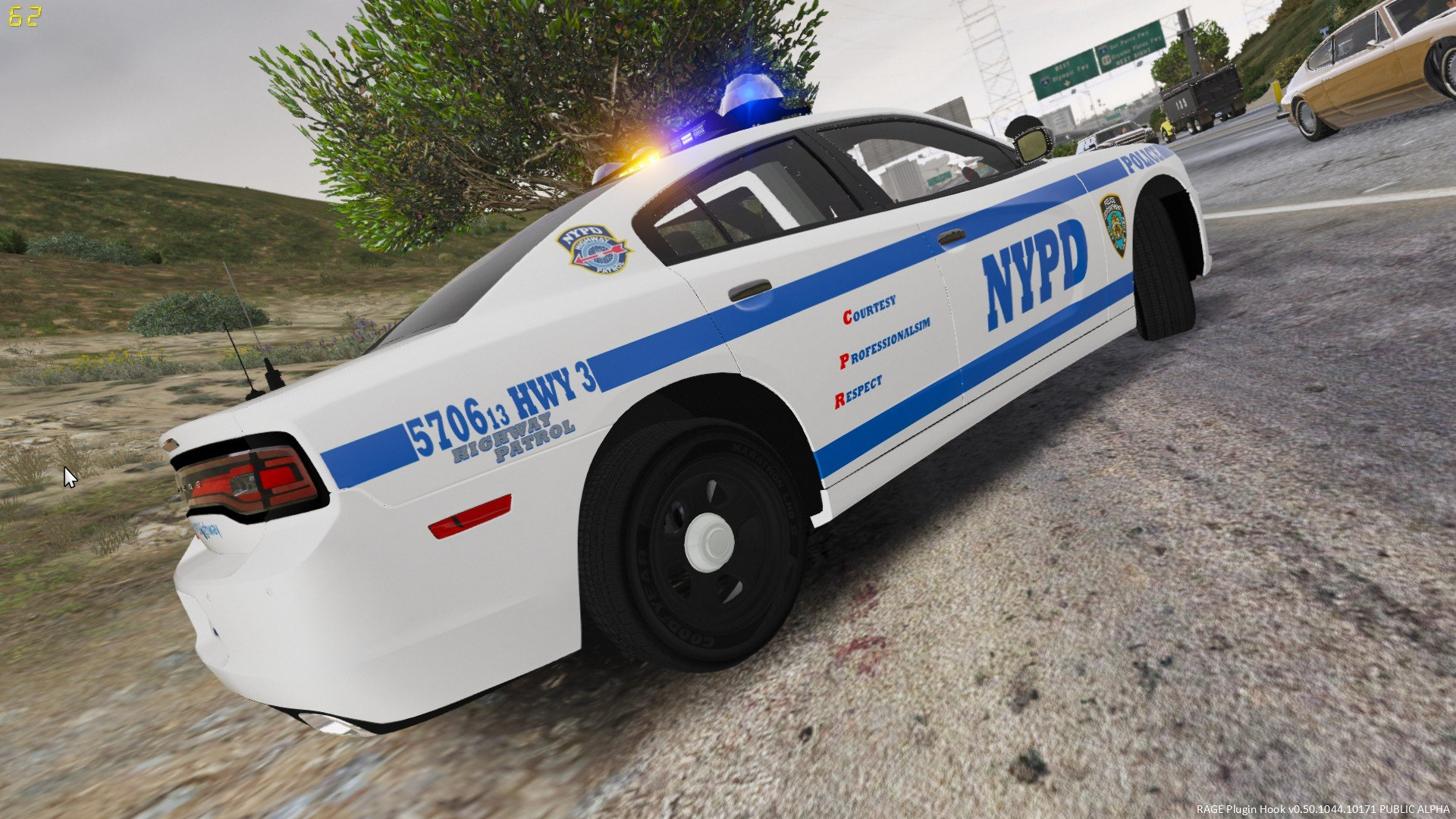 Dodge Ice Charger >> NYPD Highway Patrol 3 Dodge Charger [4K] - GTA5-Mods.com