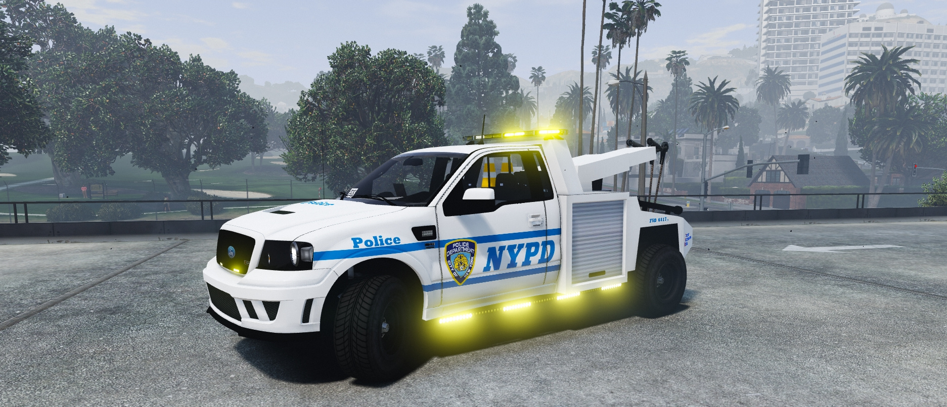 Nypd Tow Truck Ford S331 Gta5 Mods Com