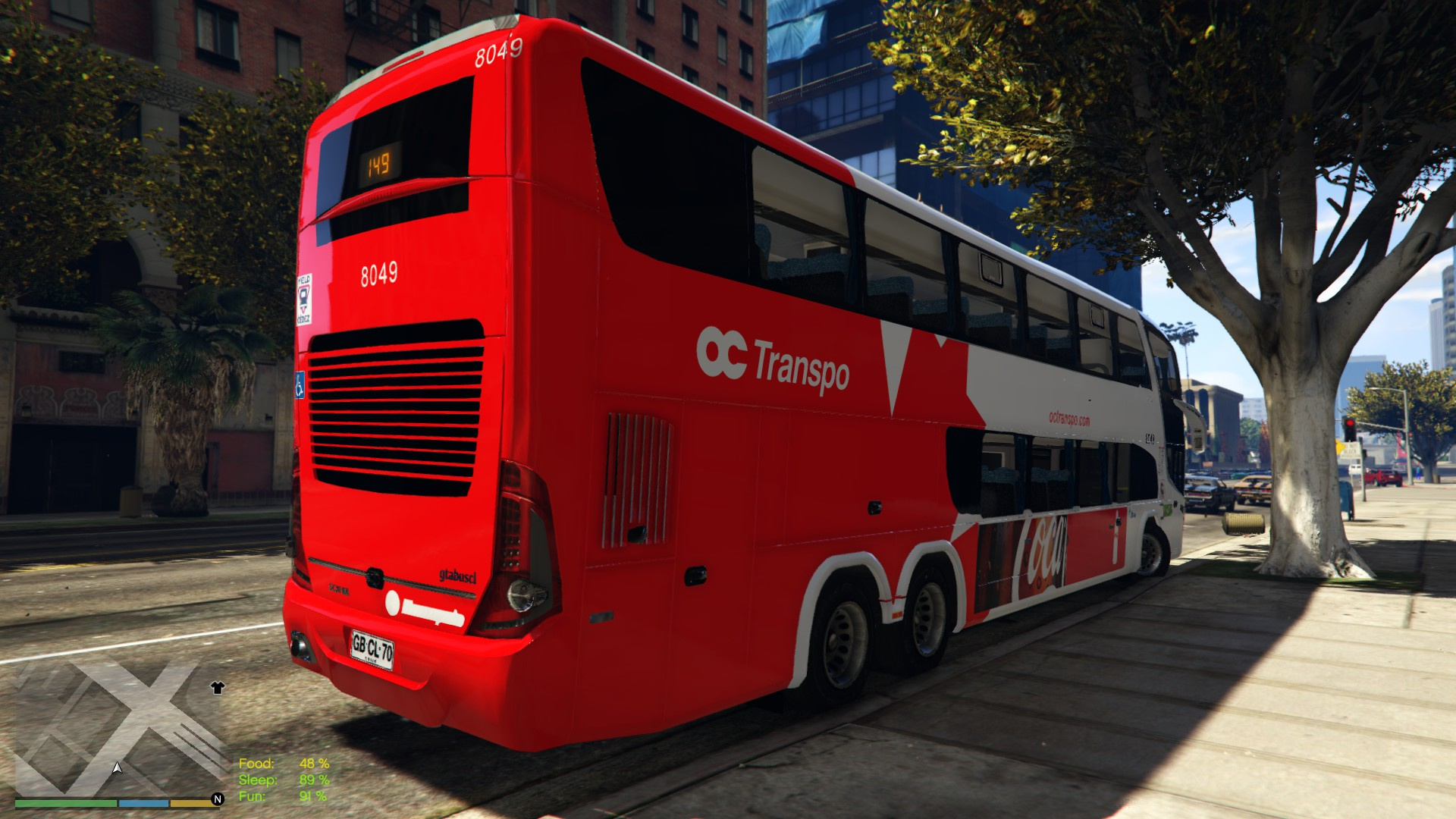 Oc Transpo Double Decker Bus Gta5 Mods Com
