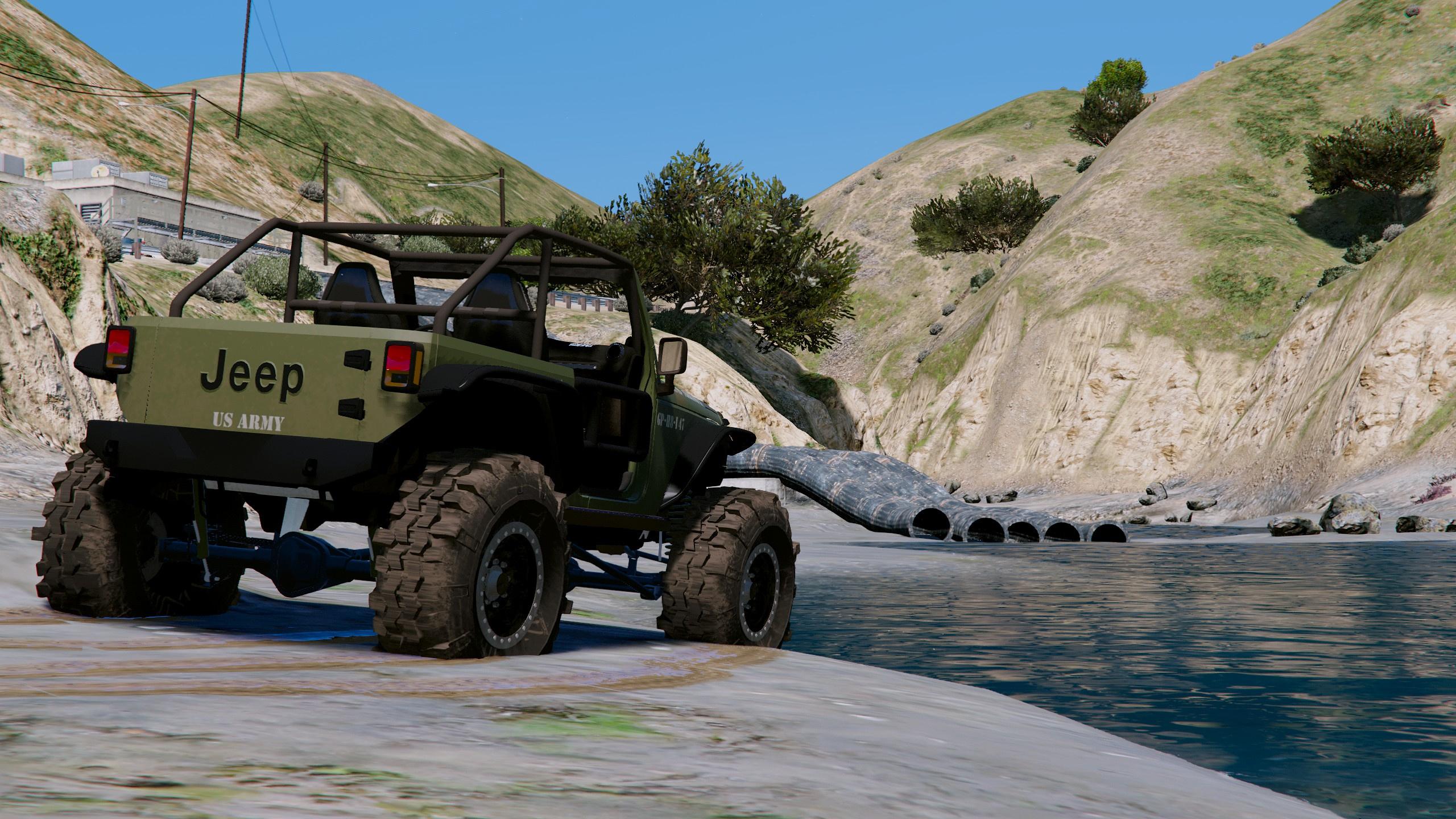 Gta 5 army jeep