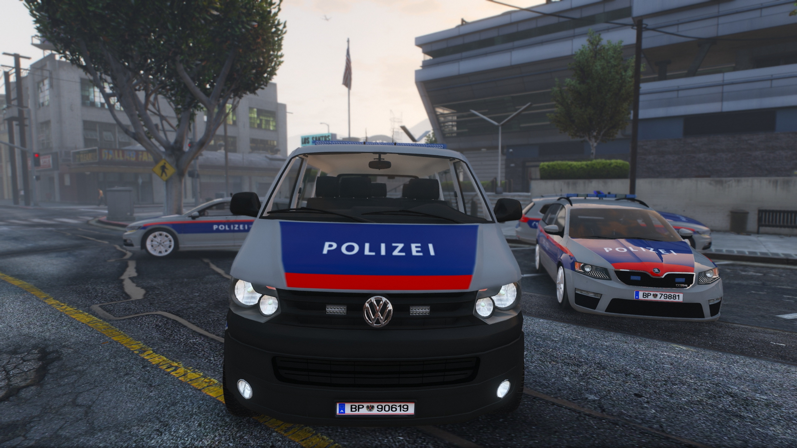 sterreich austria police mod volkswagen passat t5 golf. Black Bedroom Furniture Sets. Home Design Ideas