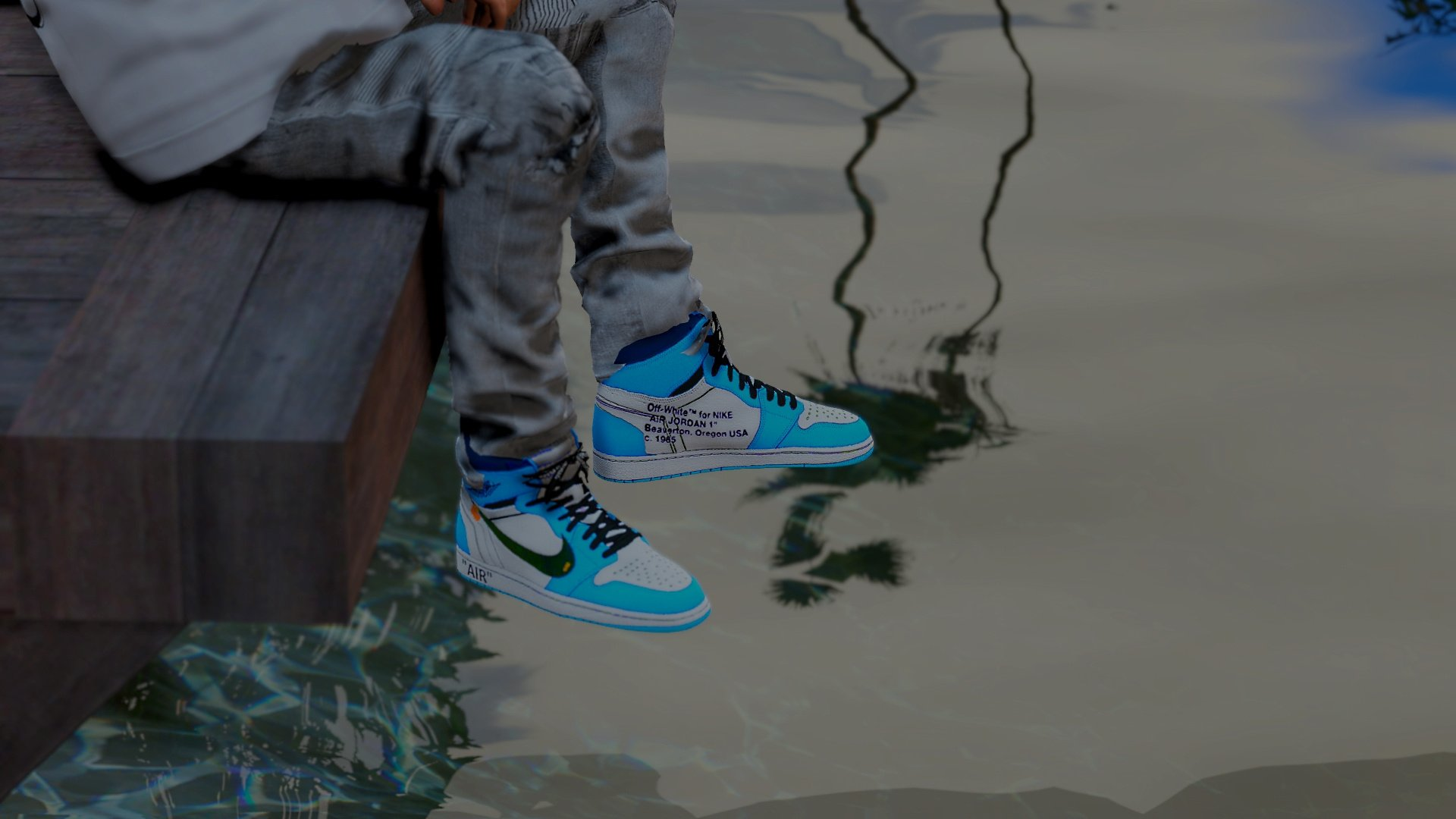 the cheapest huge selection of run shoes Off White x Air Jordan 1 - GTA5-Mods.com