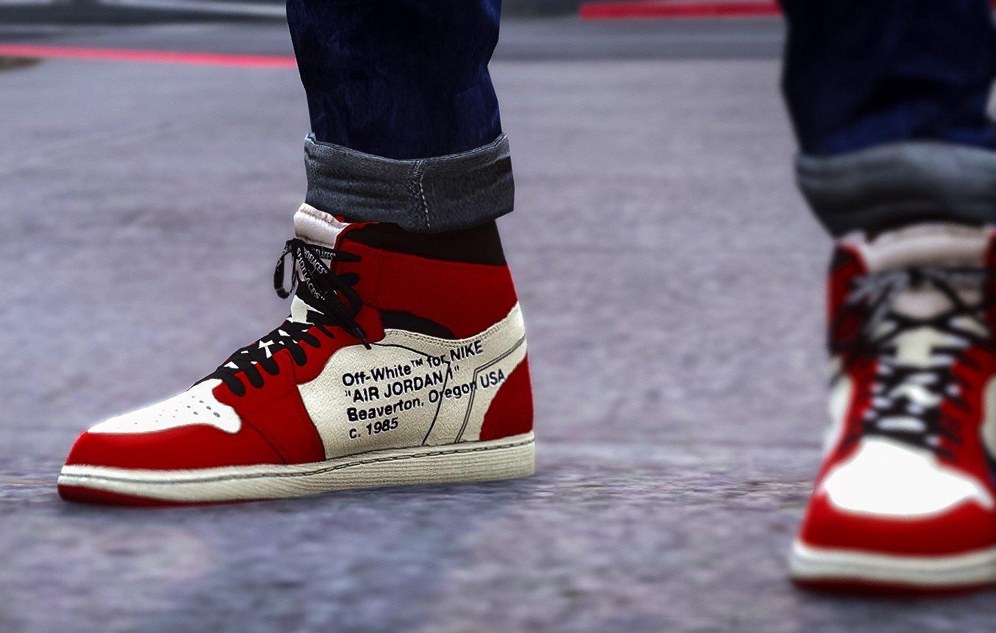 Resultado de imagen para Off-White X Air Jordan 1