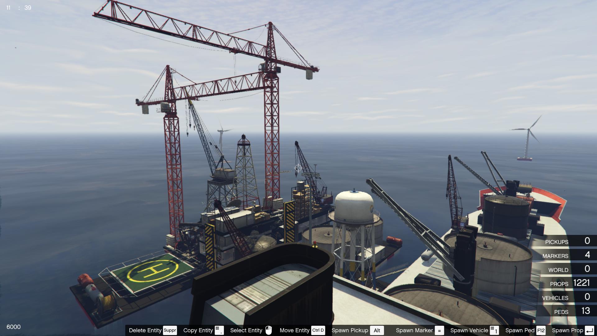Oil platform - Underwater exploitation - GTA5-Mods com