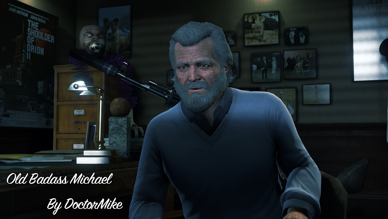 Old Badass Michael De Santa - GTA5-Mods.com