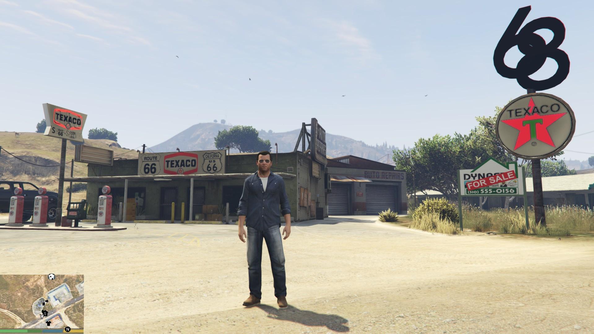 Old Texaco Gas Station - GTA5-Mods com