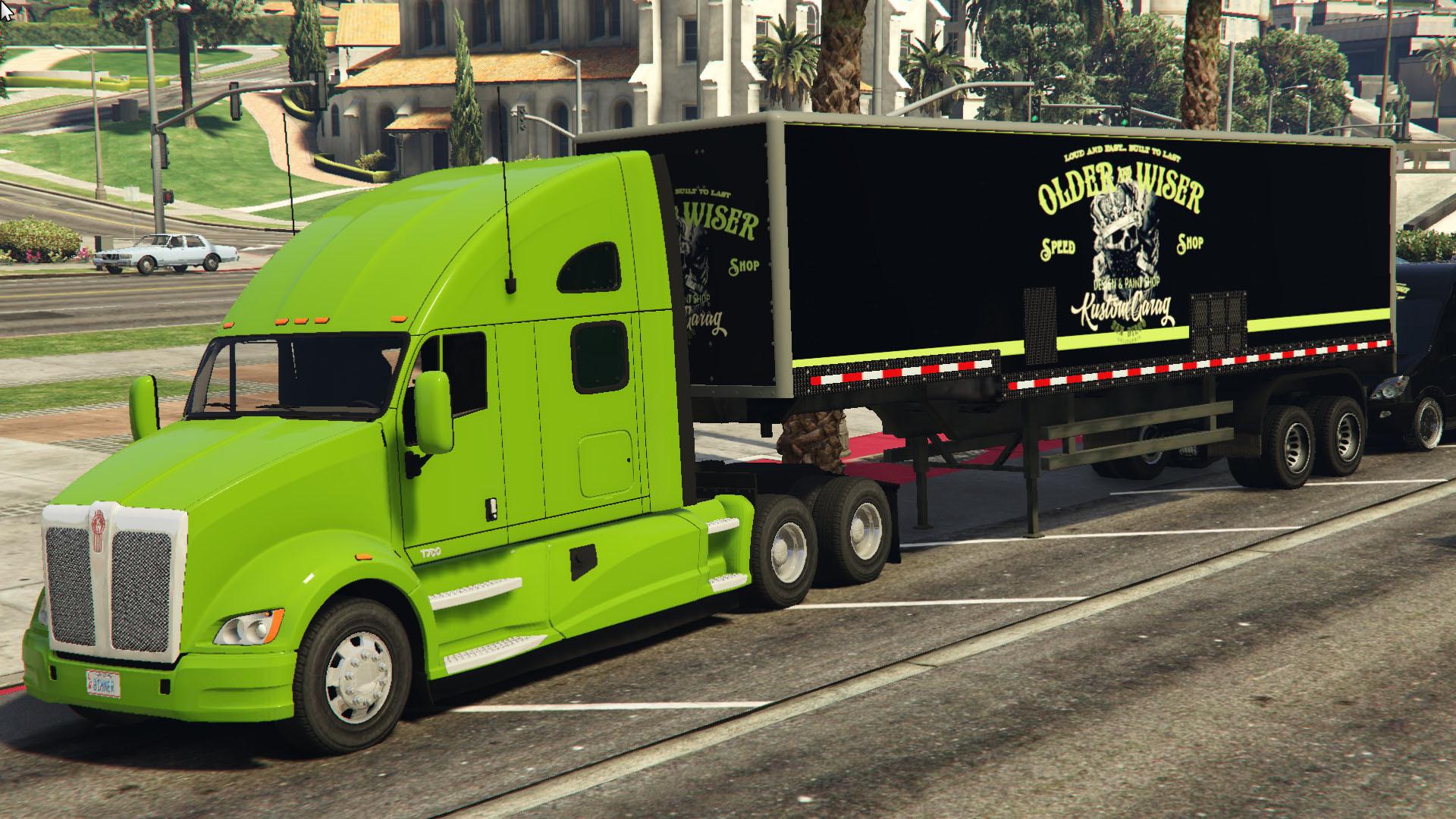 OLDER And WISER Truck trailer Liveries Textrue Livery Skin ...