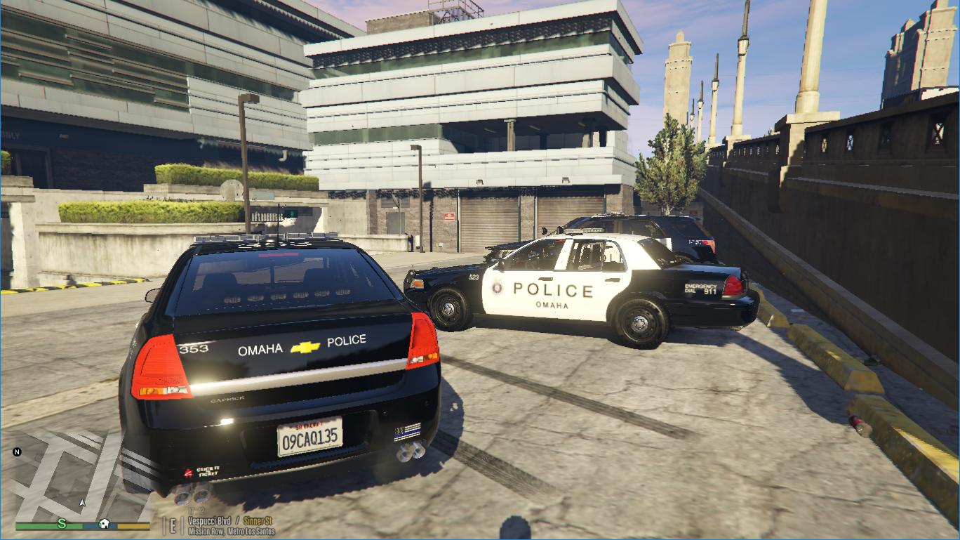 Nissan Of Omaha >> Omaha Police Department Skin Pack - GTA5-Mods.com