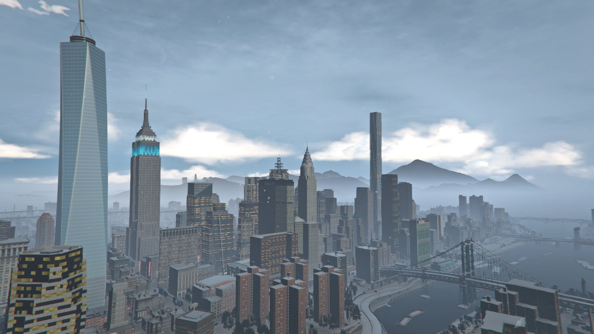 One WTC & 432 Park Avenue (Liberty Rewind) - GTA5-Mods.com