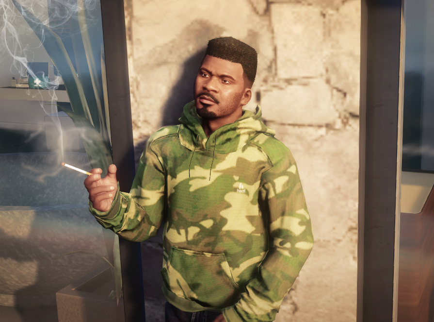 Online MP Hightop Hairstyle for Franklin - GTA5-Mods.com