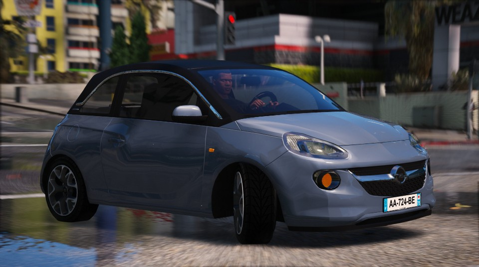 opel adam add on gta5. Black Bedroom Furniture Sets. Home Design Ideas