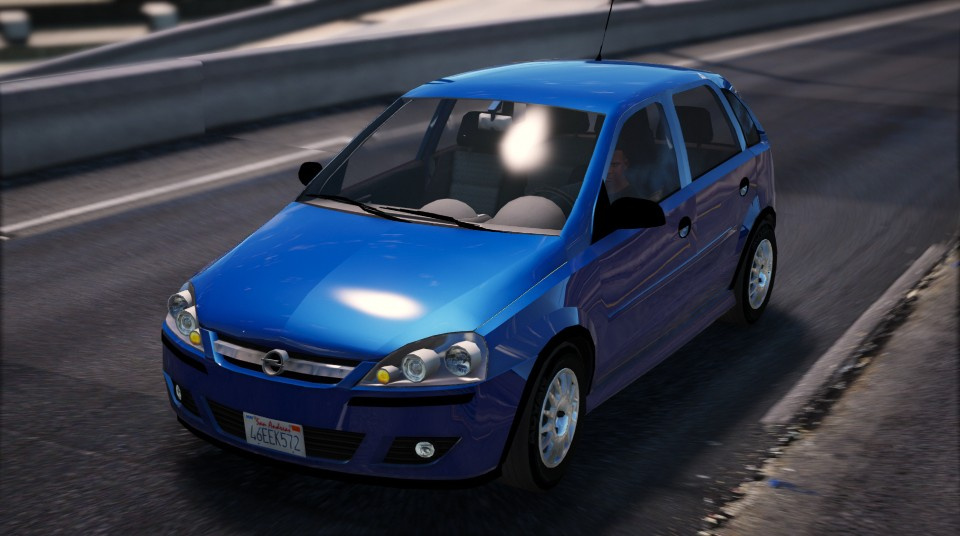 opel corsa 2005 replace add on gta5. Black Bedroom Furniture Sets. Home Design Ideas