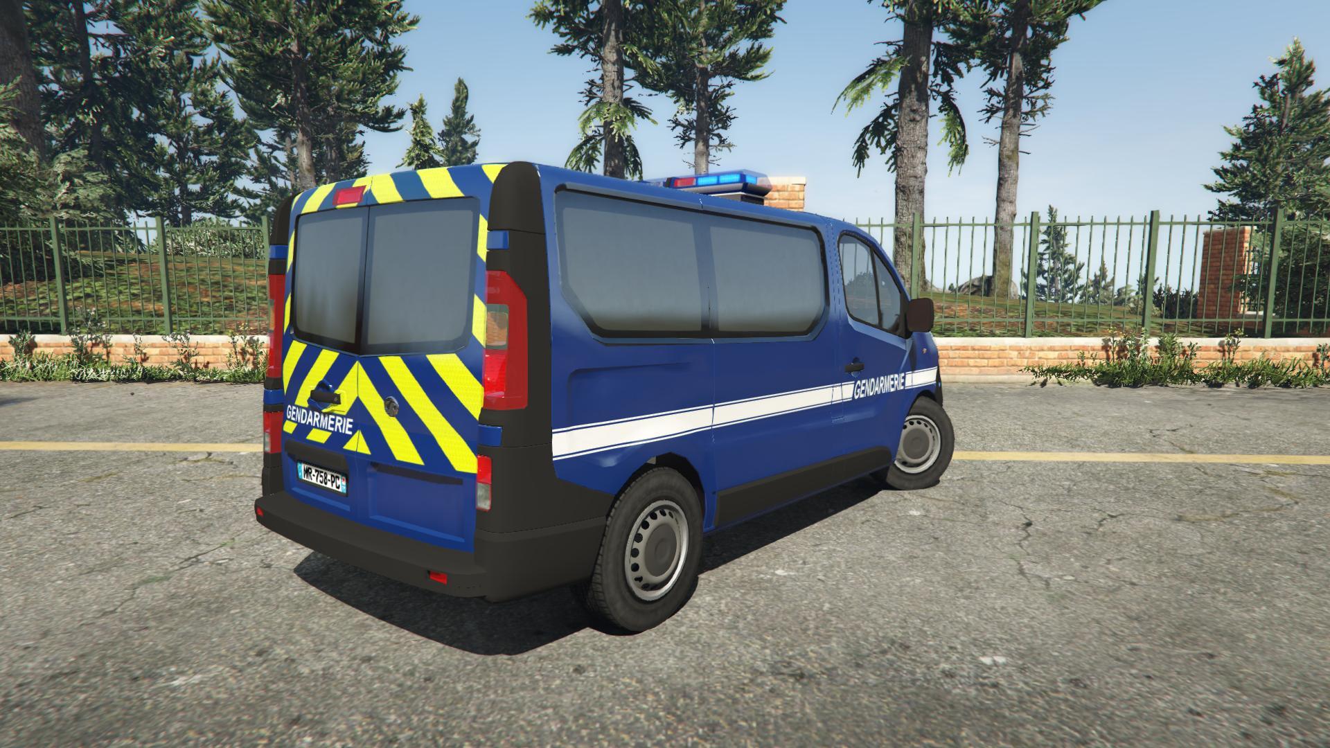 opel vivaro gendarmerie nationale