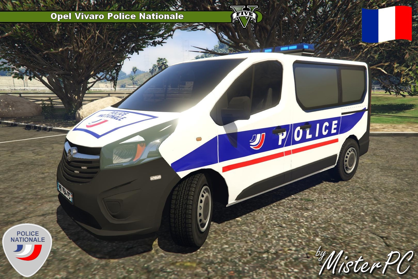 voiture de police fran aise gta 4. Black Bedroom Furniture Sets. Home Design Ideas