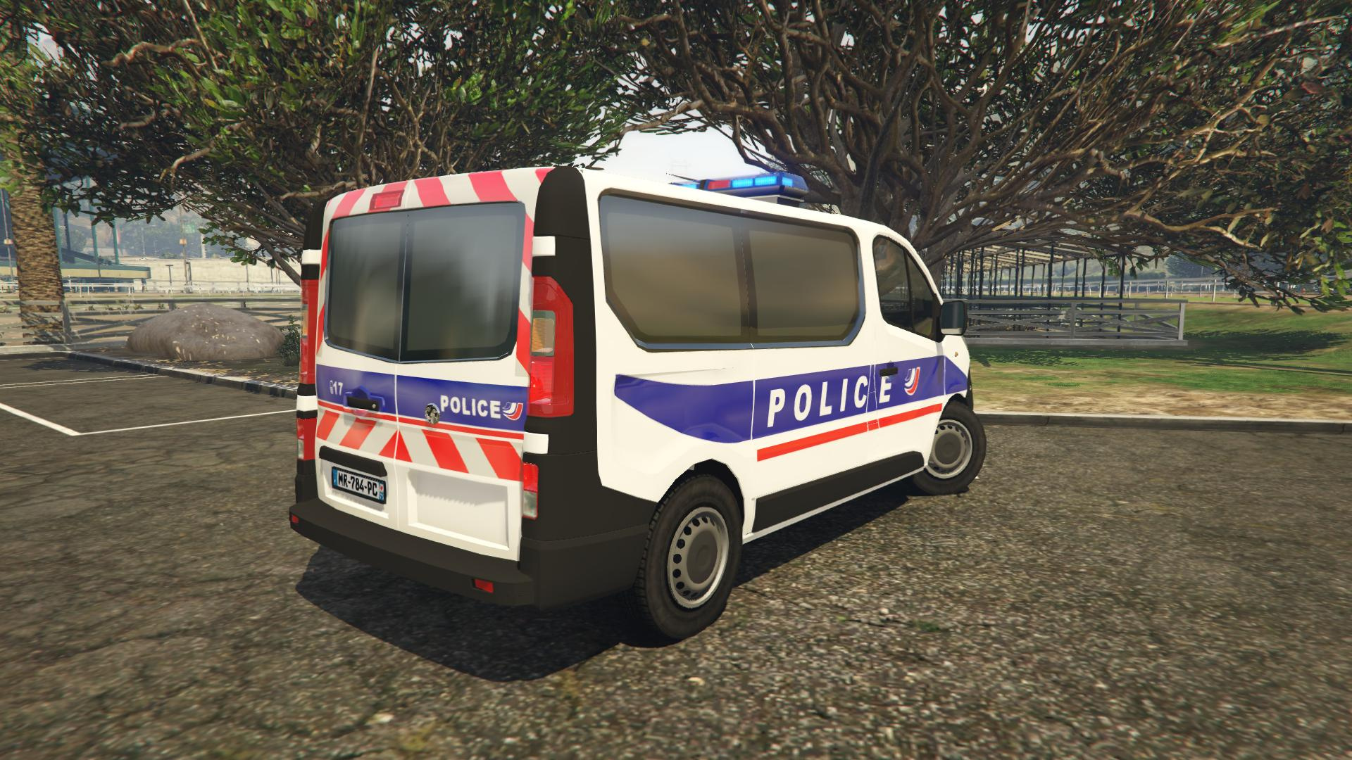 opel vivaro police nationale gta5. Black Bedroom Furniture Sets. Home Design Ideas
