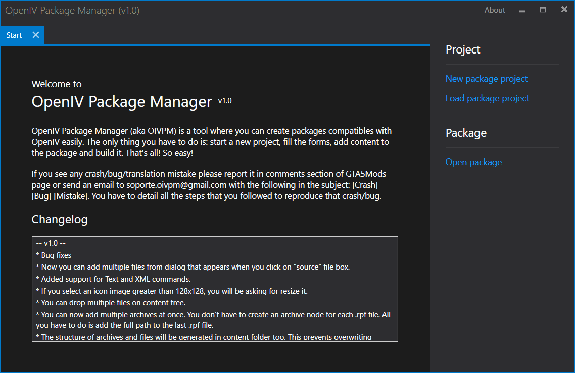 OpenIV Package Manager - GTA5-Mods com