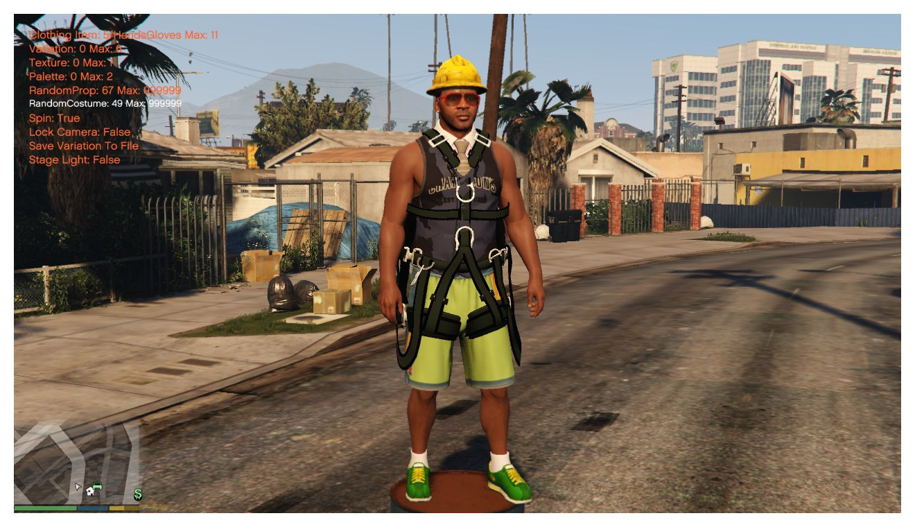 gta v clothes keep changing
