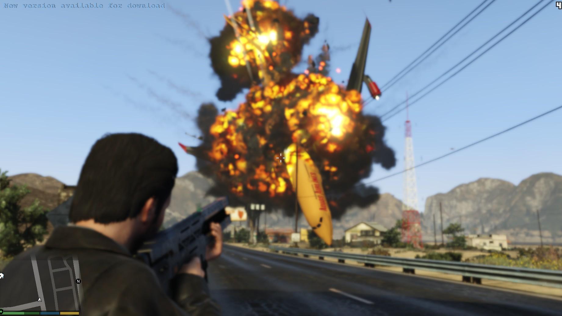 Welcome to GTA5-Mods.comOverhaul Explosions