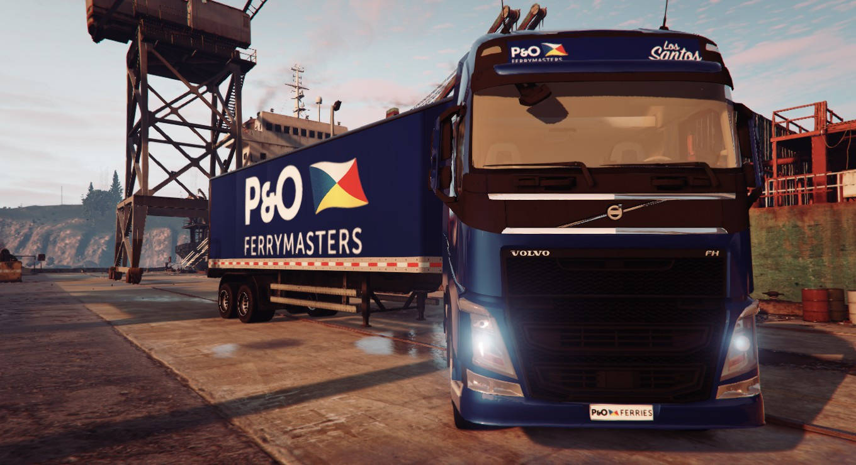 P&O Truck and Trailer Liveries - GTA5-Mods.com