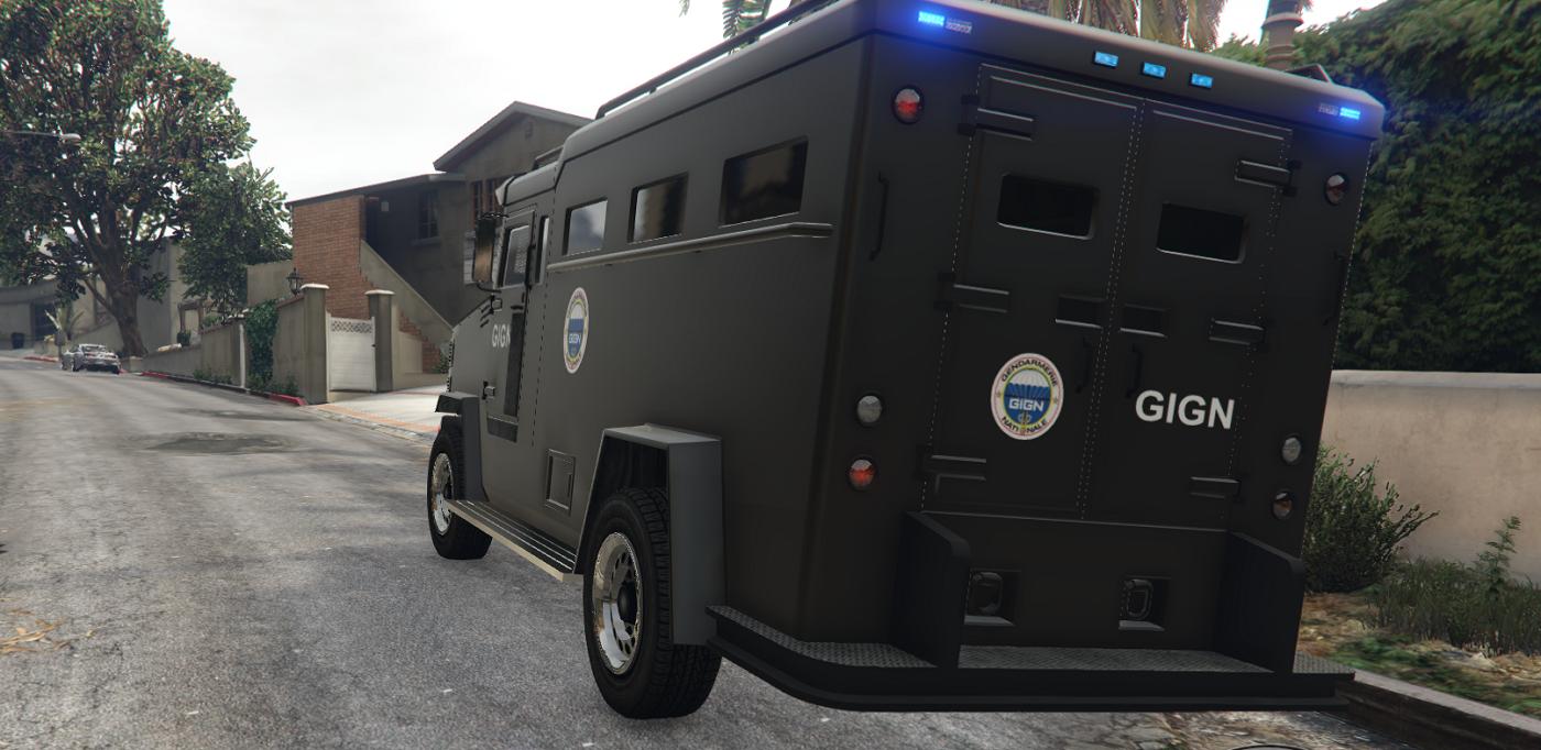 Gendarmerie police nationale urgence pack gta5 for Gendarmerie interieur gouv fr gign
