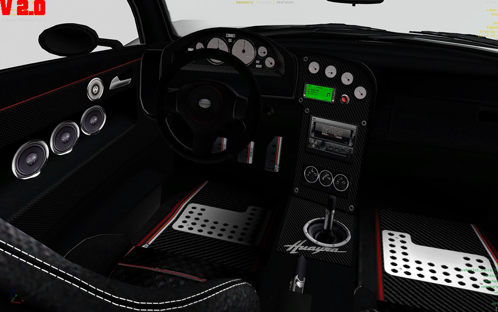 pagani huayra hd badge interior tuning gta5. Black Bedroom Furniture Sets. Home Design Ideas