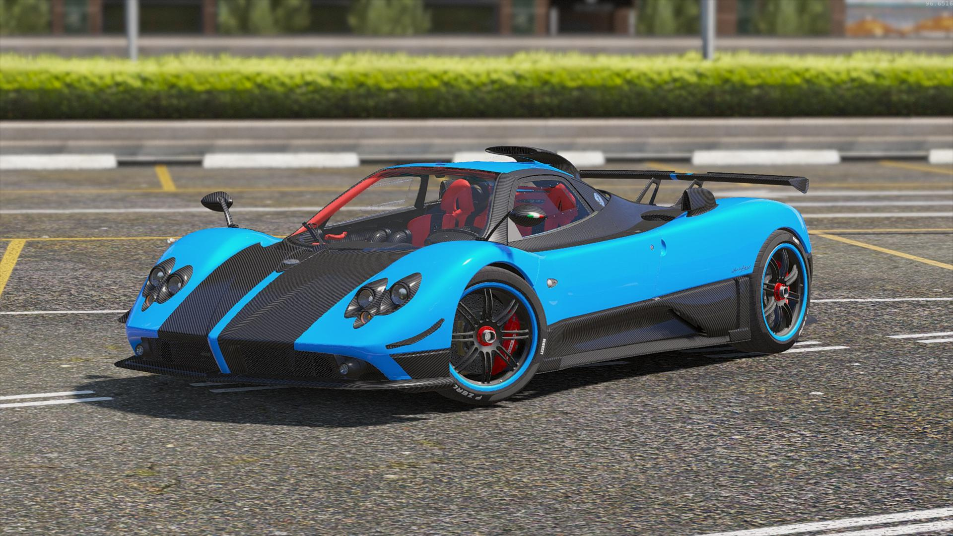 pagani zonda cinque gta5. Black Bedroom Furniture Sets. Home Design Ideas