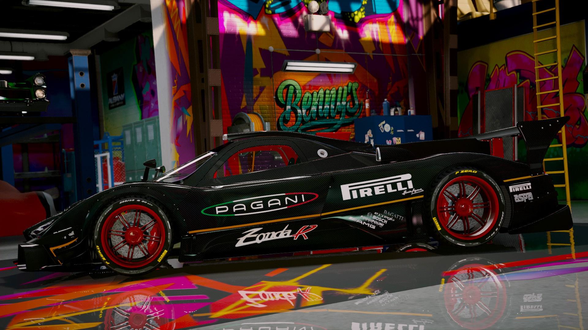 Pagani Zonda R Revolucion Add On Gta5 Mods Com