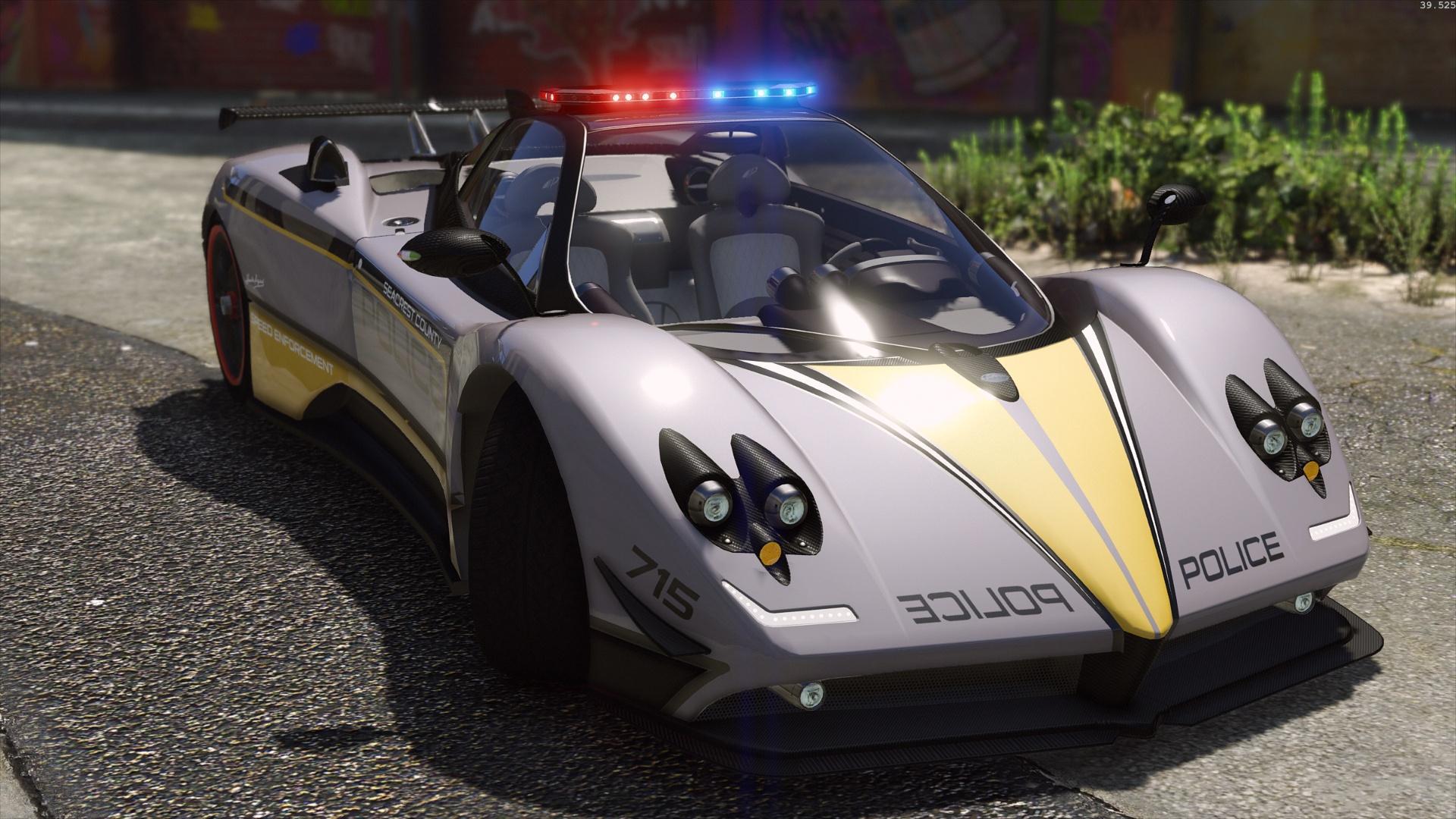 Pagani Zonda Tricolore | Hot Pursuit Police [Add-On / Rep ...