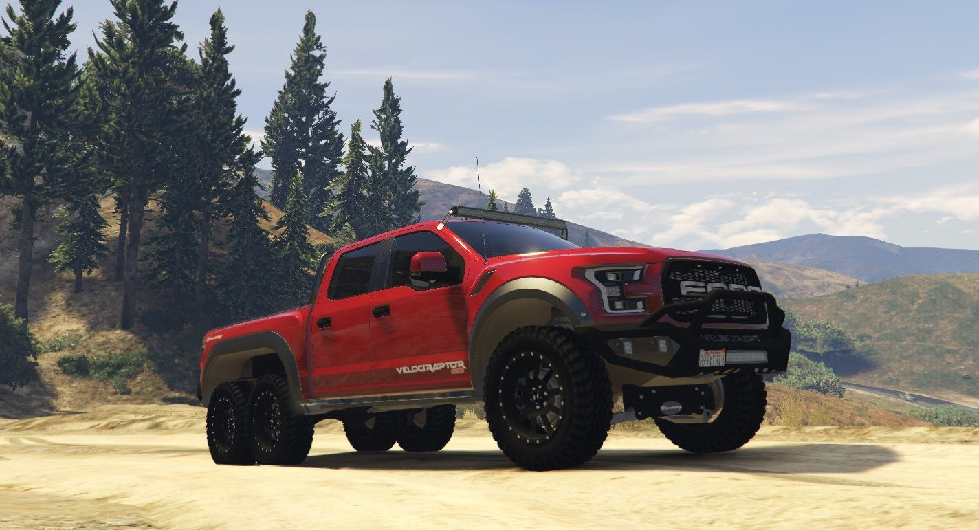 Hennessey Velociraptor 6x6 >> Texture Fix For Ford Hennessey Velociraptor 6x6 2018
