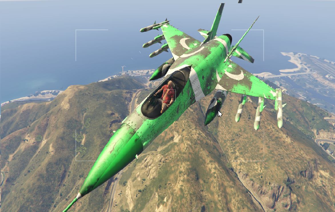 Jet Privato Gta 5 : Pakistani military jet gta mods