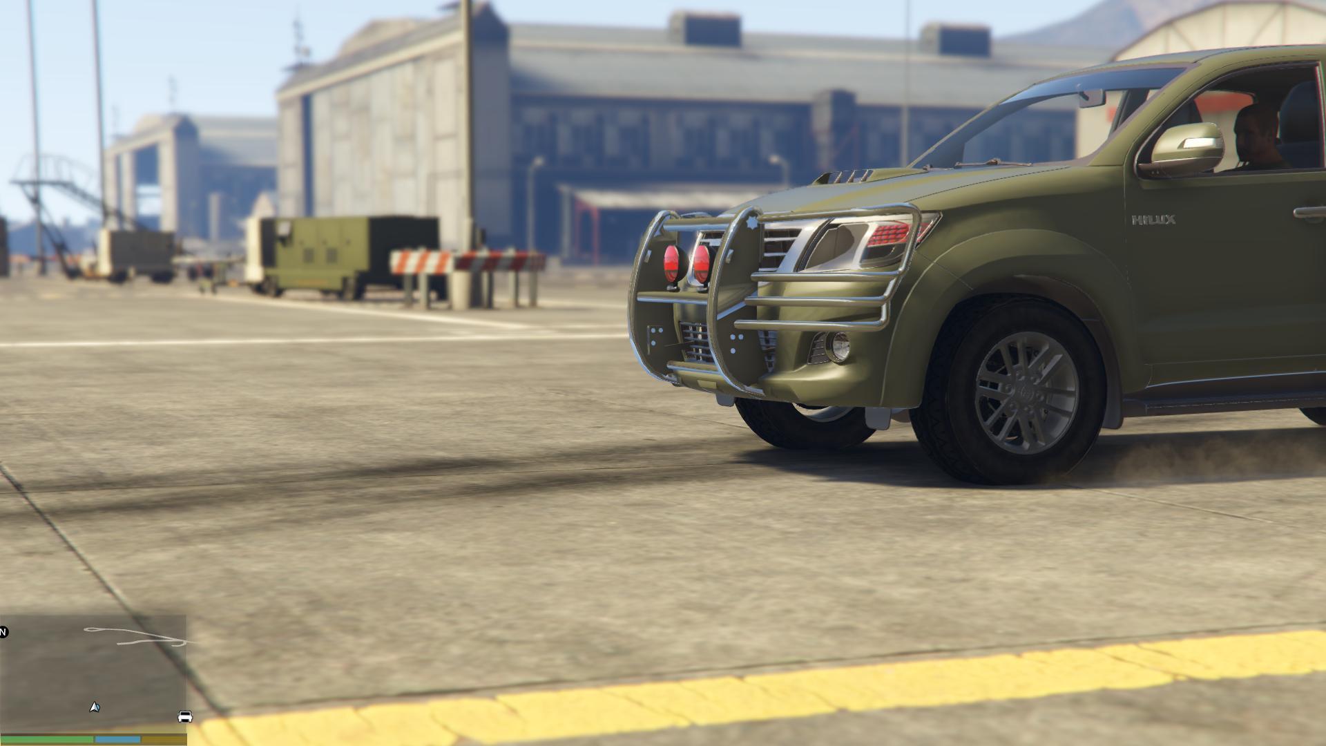 Pakistan Army Toyota Vigo [Replace] - GTA5-Mods com