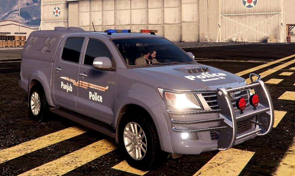 Pakistan Police Toyota Hilux Vigo 2013 Punjab Province Gta5 Mods Com