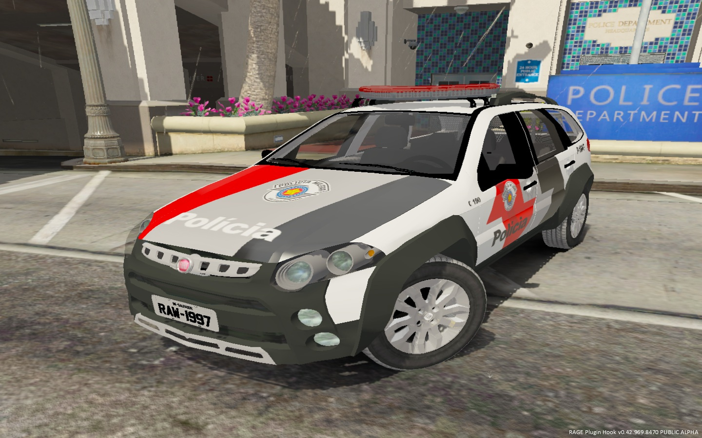 2013 fiat palio weekend adventure pmesp gta5. Black Bedroom Furniture Sets. Home Design Ideas