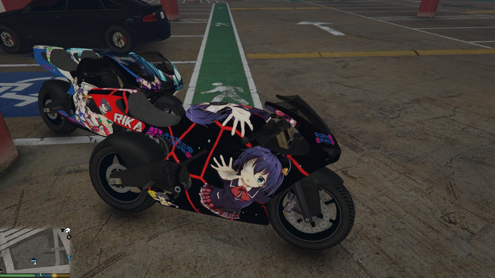 Pegassi Bati 801RR Anime Texture Pack - GTA5-Mods.com