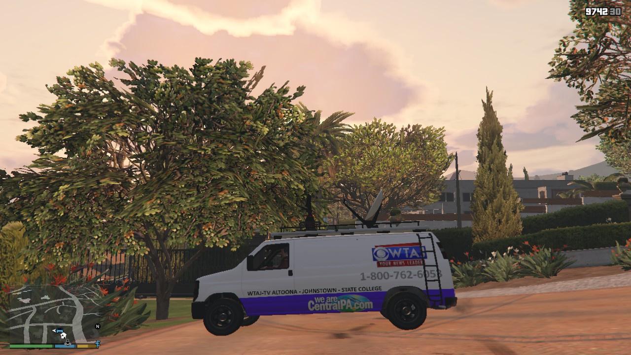 Pennsylvania Newsvan Liveries - GTA5-Mods com