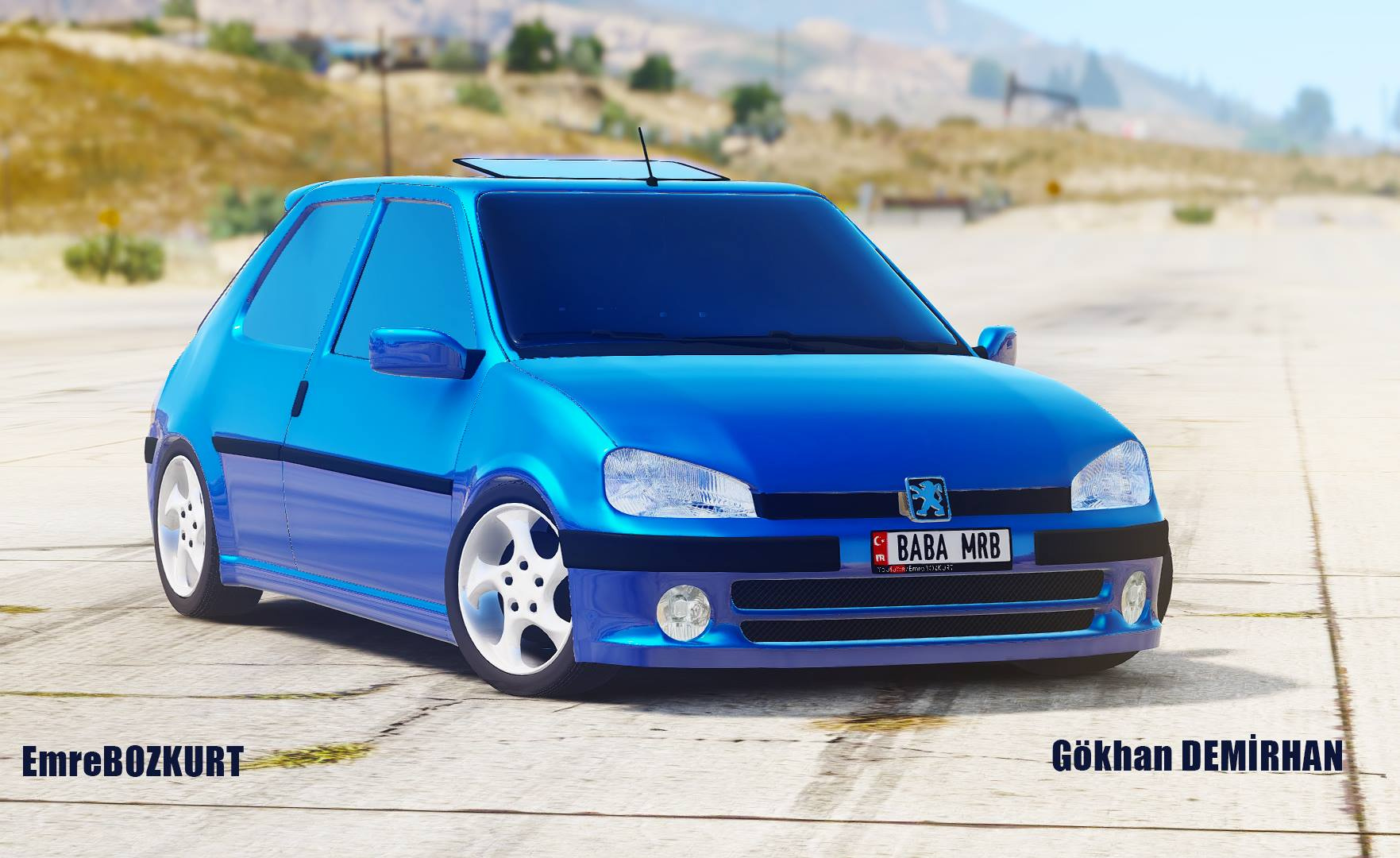Peugeot 106 [Add-On / Replace] - GTA5-Mods.com on