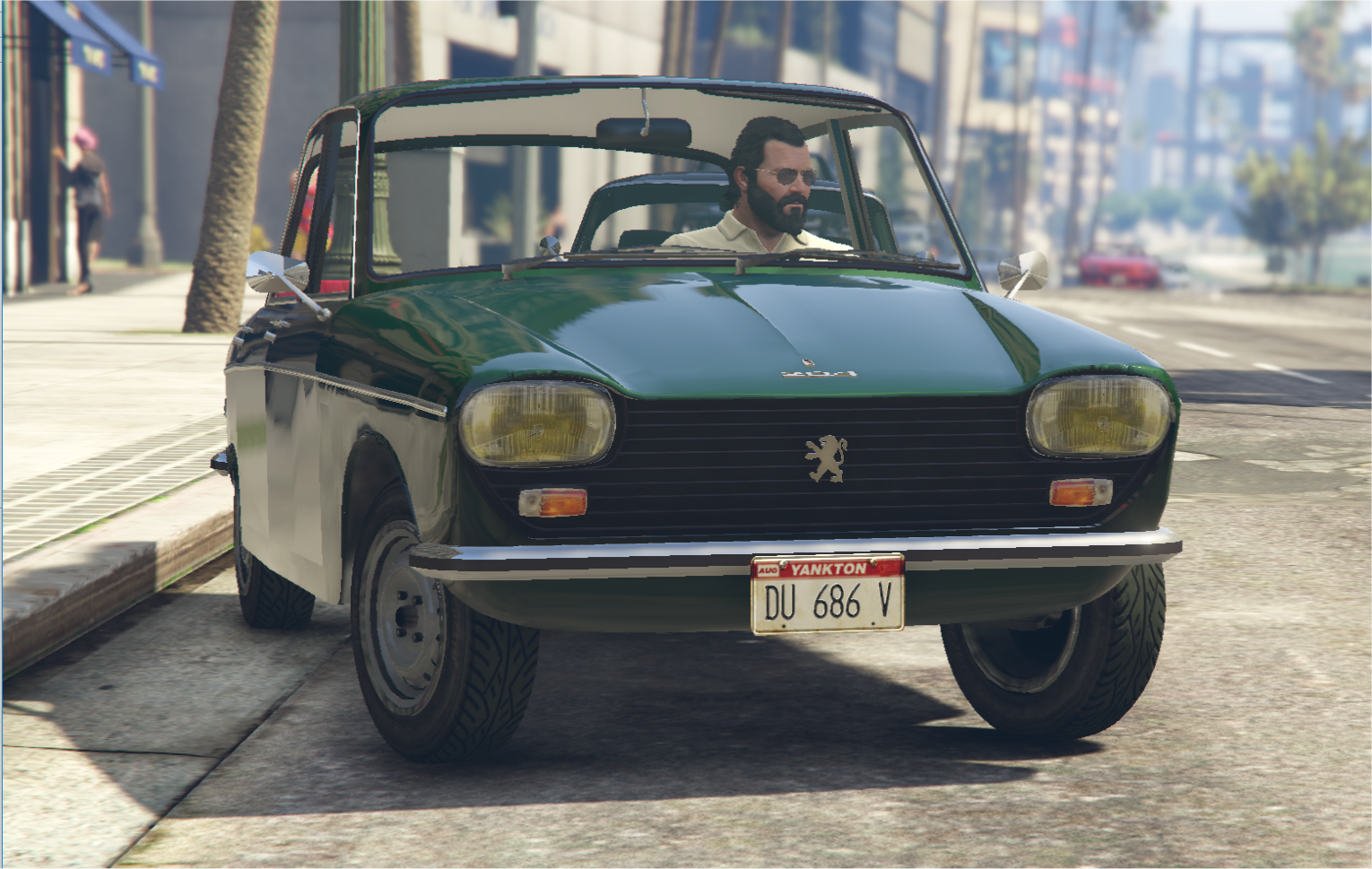 Fiat Of Glendale >> PEUGEOT 204 [Add-On] + [Replace] for Glendale, with tuning parts - GTA5-Mods.com