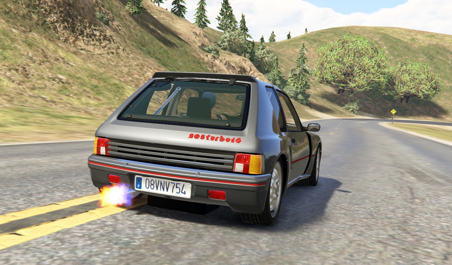 peugeot 205 turbo 16 rally 2in1 add on tuning livery gta5. Black Bedroom Furniture Sets. Home Design Ideas