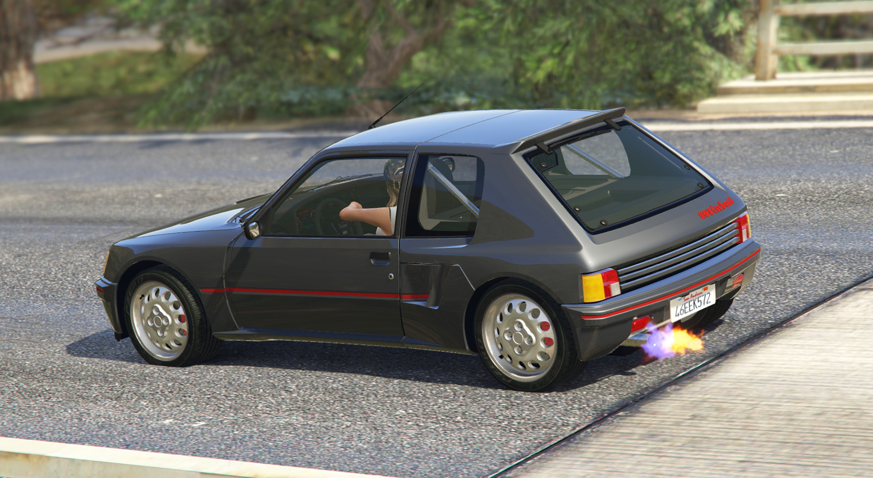 peugeot 205 turbo 16 add on tuning livery gta5. Black Bedroom Furniture Sets. Home Design Ideas