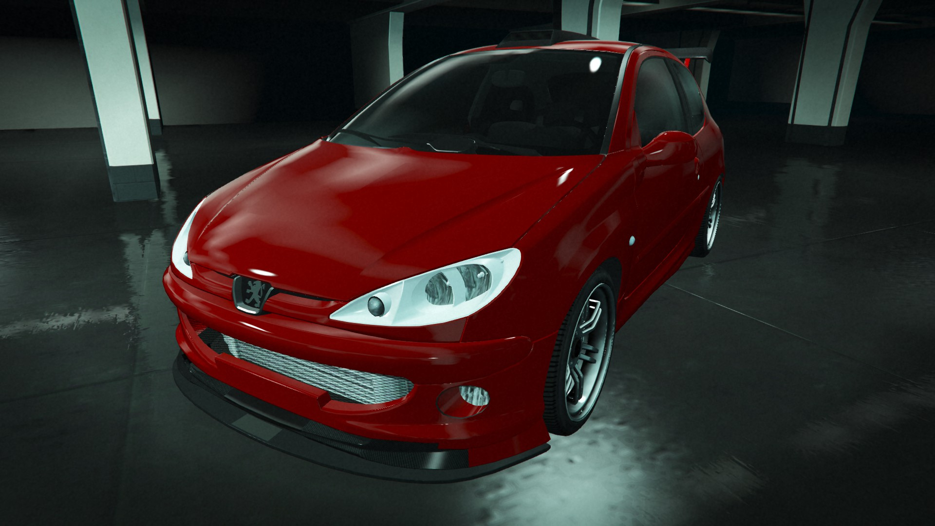 Peugeot 206 Gti Add On Tuning Oiv Gta5 Mods Com