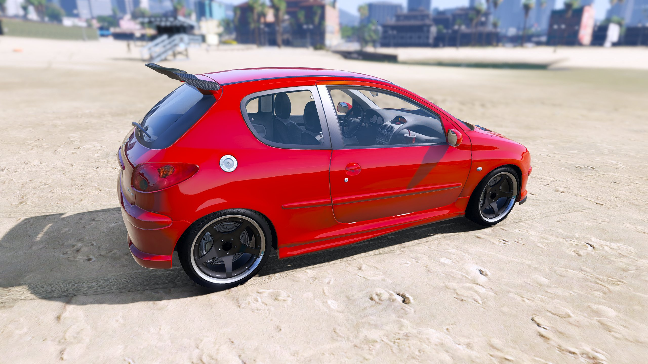 Peugeot 206 Gti Add On Tuning Oiv Gta5 Mods Com
