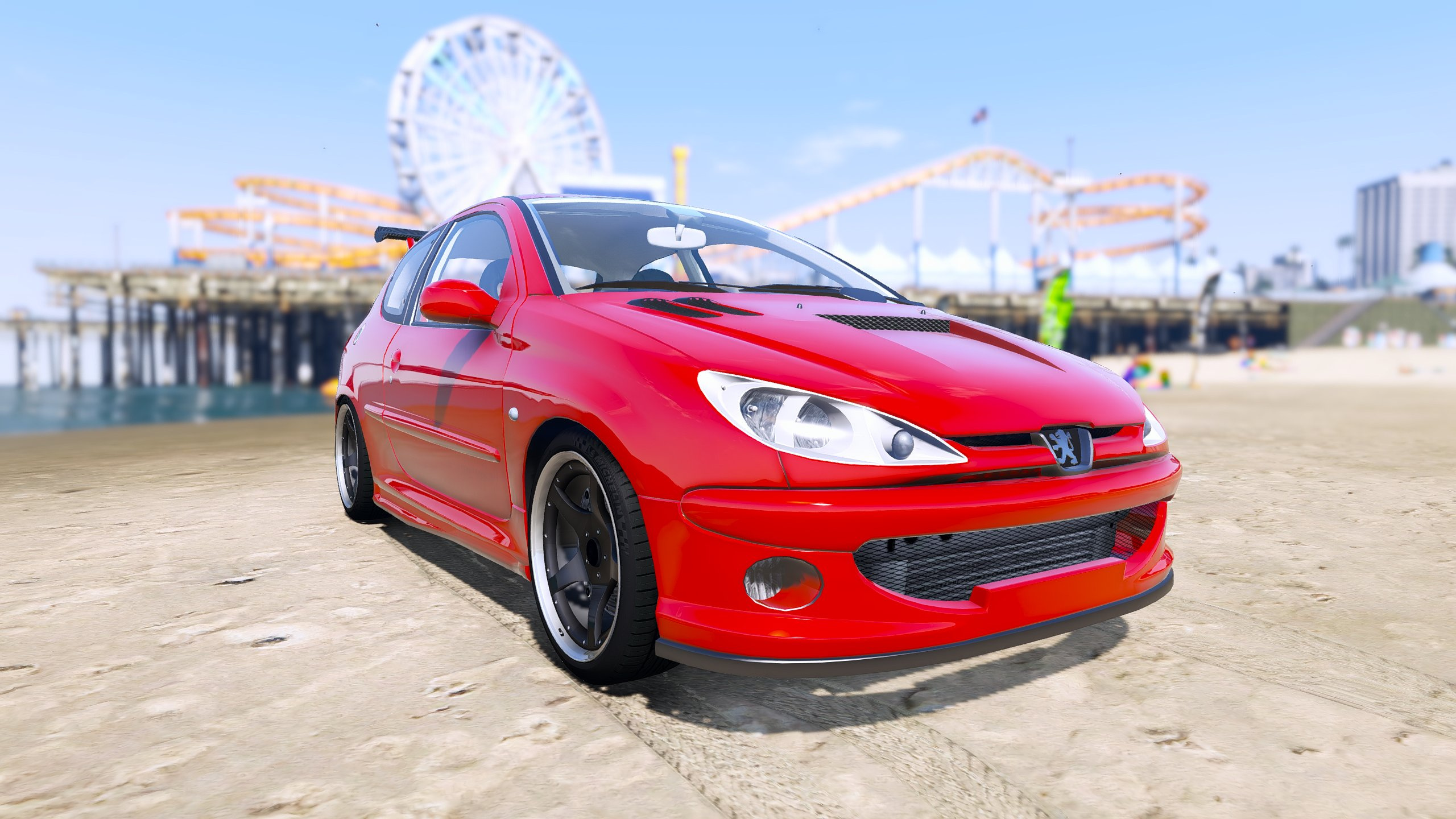 peugeot 206 gti add on tuning oiv gta5. Black Bedroom Furniture Sets. Home Design Ideas